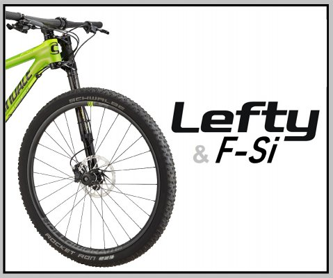 Cannondale Lefty a F-Si